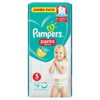 Sauskelnės - kelnaitės PAMPERS PANTS JP (5), 12 - 18 kg, 48 vnt.