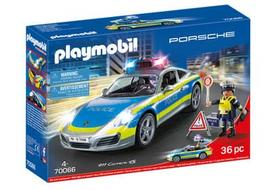Playmobil Porsche 911 Carrera 4S Police - Baltas 70066