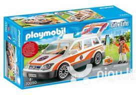 Playmobil City Life, Greitoji mašina su garsais 70050