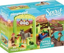 Playmobil DreamWork Spirit, Snipas ir ponas asiliukas Morka 70120