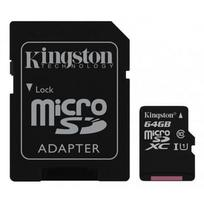 Kingston micro SDXC 64GB Canvas Select Class 10 UHS-I SDCS/ 64GB