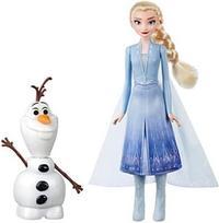 Hasbro Disney Frozen II Glow Olaf & Elsa