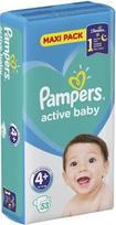 Pampers Active Baby Maxi Pack S4  53