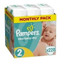 Pampers New Baby-Dry S2 228