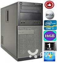 Dell Optiplex 7010 Intel Core i7-3770 16GB 1TB HDD GTX1050ti 4GB Windows 7 Professional