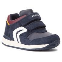 Laisvalaikio batai GEOX - B Rishon B. A B840RA 022BC C4335 Navy/Bordeaux