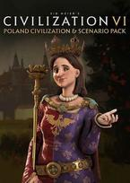 Sid Meier's Civilization VI - Poland Civilization & Scenario Pack (DLC) Steam Key GLOBAL