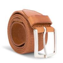 Vyriškas Diržas WRANGLER - Canvas Belt W0B338994 85 Rust