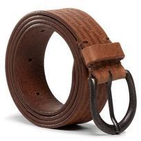 Vyriškas Diržas WRANGLER - Allover Kabel Belt W0E1U1X81 Cognac
