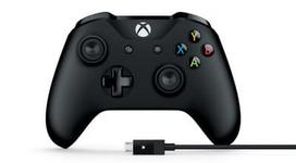 XBOX ONE Wireless Controller + Cable for Windows Black (Juodas)