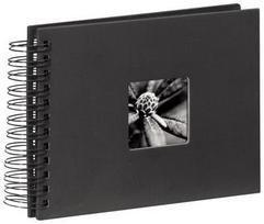 Hama Fine Art Spiral black 24x17 50 black Pages 90150