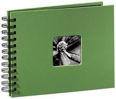Hama Fine Art Spiralbound 24x17 50 Pages apple-green 94880