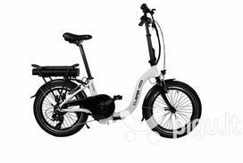 """Elektrinis sulankstomas dviratis Blaupunkt Clara 400 20"""", baltas"""