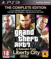 Grand Theft Auto IV (4) & Episodes From Liberty City: The Complete Edition PS3